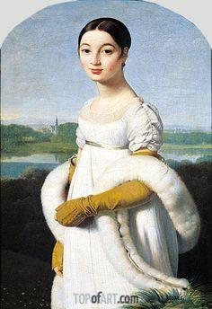 Ritratto di Mademoiselle Rivière. 1805
