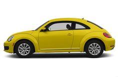 Volkswagen Beetle Hatchback Side View