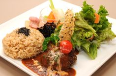 玄米菜食カフェ ハナダ・ロッソ 公式ページ