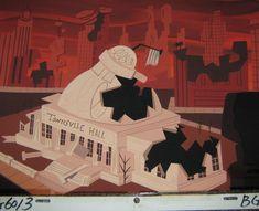 Original Production Background Samurai Jack Cartoon Net