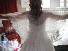 possible wedding shawl?