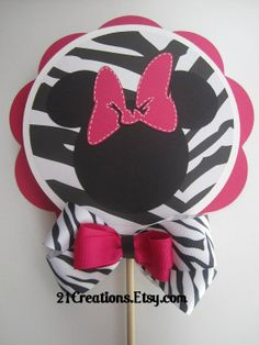 Minnie Mouse Birthday Party Idea ... DYI Decorations.