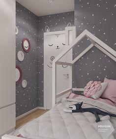 Bedroom Wall Colors, Small Room Bedroom, Baby Bedroom, Teen Room Decor, Bedroom Decor, Cool Kids Bedrooms, Purple Bedrooms, Girl Bedroom Designs, Kids Room Design