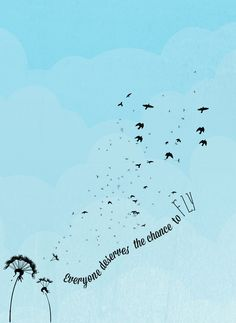everyone deserves the chance to fly.. wicked the musical... Art Print