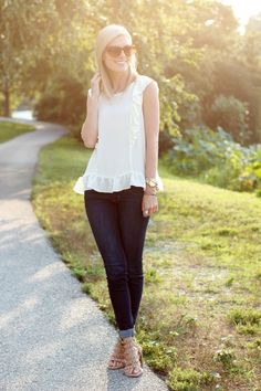 Life with Emily | a life + style blog : Ruffled Perfection