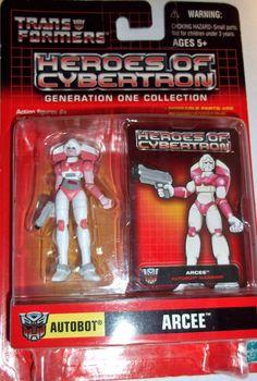 hasbro Transformers Heroes of Cybertron ARCEE pvc action figure new moc