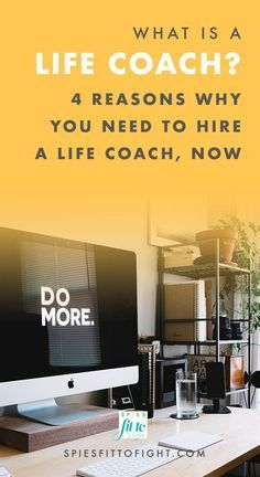 What is life coaching? And Why did I change my career to become a full time life coach? You'll find out about what life coaching is, if life coaching is for you, and why I became a life coach in this blog post on SPIESFitToFight.com. Click through to check it out.