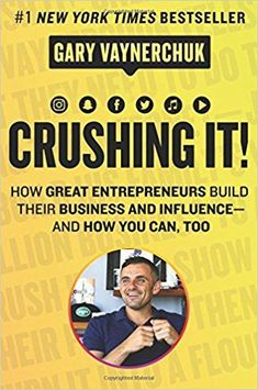 Crushing it! How great entrepreneurs build their business and influence and how you can too. See more about this great new book and discover all the other wonderful books for entrepreneurs by checking out the entire list. #entrepreneur #books #business #influence #success