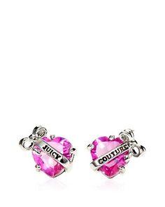 Juicy Couture Heart Earrings