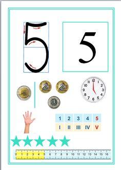 Math Games, Preschool Activities, School Frame, Montessori Math, Teaching Math, Classroom Decor, Kids Learning, Homeschool, 1