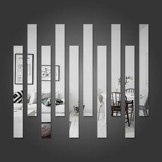 Espelho Decorativo Listras - Modelo Exclusivo | BemColar