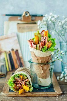 pieprz czy wanilia fotografia i kulinaria: Hello wrap razy trzy. :)