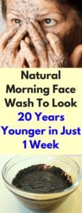 Natural Morning Face Wash To Look 20 Years Younger in Just 1 Week – Hale Lady