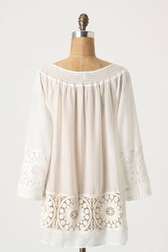 Filtered Light Tunic - anthropologie.com