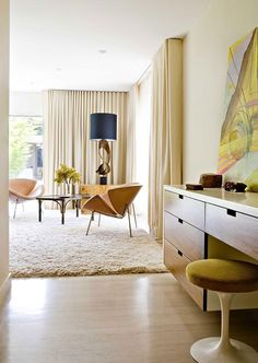 Brentwood Residence by Jamie Bush. Desk