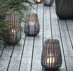Wooden Lantern. This stunning lantern will sit perfectly in the garden or at home and is available in two different sizes.