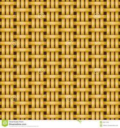 Wicker Basket Weaving Pattern Seamless Texture Stock Photo - Image ...