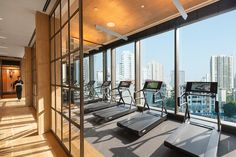 Fitness Centre at Mandarin Oriental, Guangzhou | Flickr - Photo Sharing!