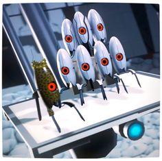Portal 2 Wizkids Sentry Turret Blind Box Series Ii Stuff