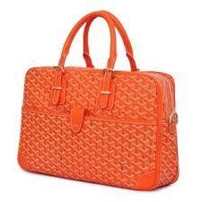 Goyard Bag. Orange!