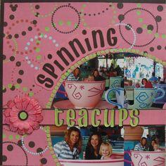 Spinning Teacups - Disney - Scrapbook.com