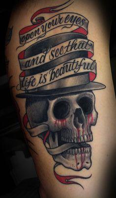 Tim Hendricks Tattoo Artist - http://blog.saltwatertattoo.com