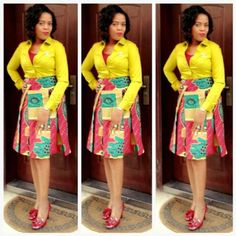 Sexy, Short, Ankara Dresses for Party dresses and Cocktail dresses ankara stylecheap online. Summer dresses for women african print, ladies ankara fashion African Dresses For Women, African Attire, African Wear, African Fashion Dresses, African Women, Fashion Outfits, Style Fashion, Fashion 2016, African Style