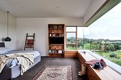 Image 24 of 37 from gallery of Ceres House / Dan Gayfer Design. Photograph by Dean Bradley Cabinet D Architecture, Interior Architecture, Interior Design, Shelves In Bedroom, Ranch Style Homes, Decoration Design, Southern Homes, My New Room, Modern House Design