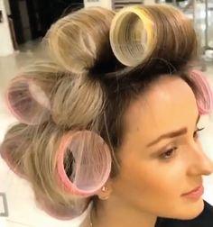 20 Superb Hair Curler For Kids Sleep In Hair Rollers, Hair Curlers Rollers, Permed Hairstyles, Modern Hairstyles, Air Dry Hair, Natural Hair Styles, Long Hair Styles, Hair Rinse, Types Of Curls