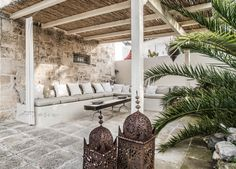 © Paulina Arcklin | Blog post: BYPIAS SS17 PHOTOSHOOT + TRULLO NELLA PINETA Moroccan Bedroom, Moroccan Decor, Moroccan Style, Moroccan Lighting, Moroccan Lanterns, Porches, Puglia Italy, Outdoor Living, Outdoor Decor