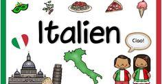 Nye land plakater (Italia / Spania) I dag er det to nye land plakater som & Image Categories, First World, Children, Kids, Kindergarten, Tours, School, Blog, Decor
