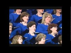The Lord is my Shepherd, sung by the Mormon Tabernacle choir.. sounds like angles singing