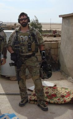 DEVGRU Red Squadron operator Kyle DeFoor during Operation ...