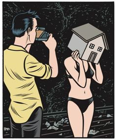 Charles Burns - The Hive .... looking forward to this being published later this year.