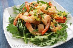 Amee's Savory Dish: Citrus and Balsamic Marinated Shrimp