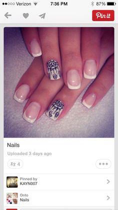 Dream catcher nails