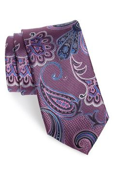 Nordstrom 'Large Paisley' Silk Tie available at #Nordstrom