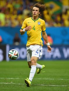 David Luiz of Brazil in the 2014 World Cup