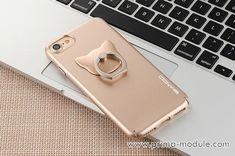 Mentall einfach Katze Handyhülle mit Ring für Iphone7/7PLus