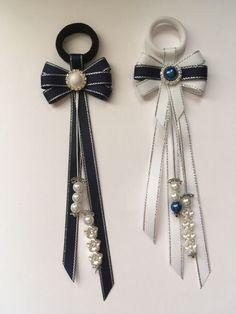 Канзаши Паблик Куликовой Diy Hair Accessories, Handmade Accessories, Women Accessories, Diy Hair Bows, Ribbon Hair Bows, How To Make Bows, Make And Sell, Ribbon Barrettes, Fascinator Diy