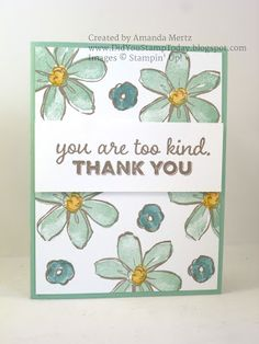 Did You Stamp Today?: Thank You Garden - Stampin' Up! Garden in Bloom