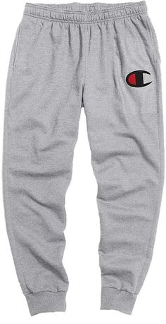 Champion Men's Powerblend C Graphic Joggers, Gray Source by dickssportinggoods outfits mens Cute Lazy Outfits, Sporty Outfits, Swag Outfits, Nike Outfits, Athletic Outfits, Trendy Outfits, Cool Outfits, Fashionable Outfits, Cute Sweatpants Outfit