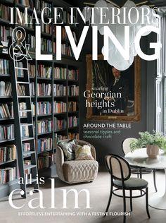 Chocolate Crafts, Living Magazine, December, Shelves, Interiors, Entertaining, Table, Image, Home Decor
