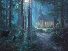 The Latest Thomas Kinkade Vault Release: West Rim, Yosemite - http://www.parsonsthomaskinkadegallery.com/the-latest-thomas-kinkade-vault-release-west-rim-yosemite/