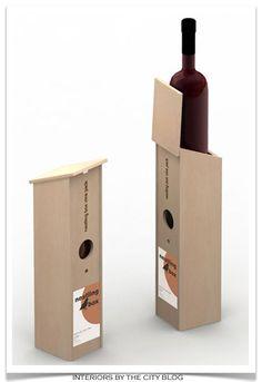 Nestling wine box, nice housewarming gift