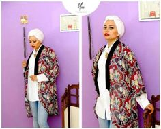 Cool African hijaby style,