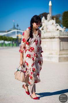 Paris Fashion Week SS 2016 Street Style: Susie Lau
