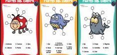 Textos cortos. Lecturas comprensivas - Imagenes Educativas Spanish Language Learning, Teaching, Comics, Club, Texts, Animals Images, Study Spanish, Education, Cartoons