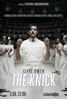 The Knick, a new series on Max starting tonight at 10:00, looks very good . . .