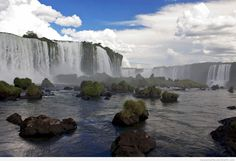 The Inga Falls at the Congo River move more water than any other waterfall on the planet!